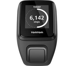 TOMTOM Spark 3 HR GPS Fitness Watch - Black, Large
