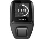TOMTOM Spark 3 HR GPS Fitness Watch - Black, Large