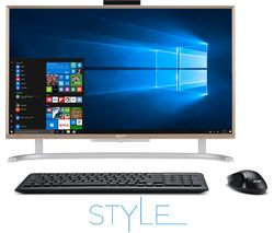 """ACER Aspire C24-760 23.8"""" All-in-One PC - Gold"""