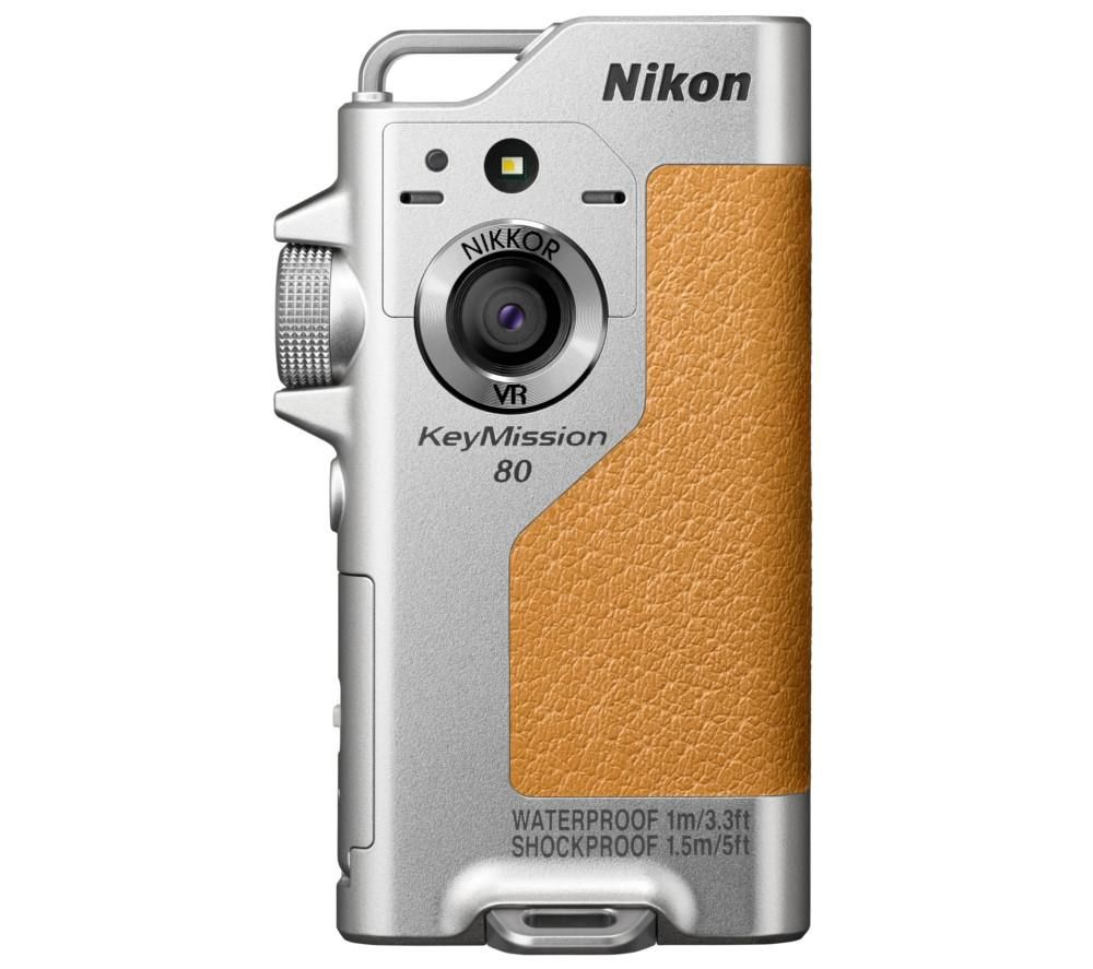 NIKON KeyMission 80 Action Camcorder - Silver