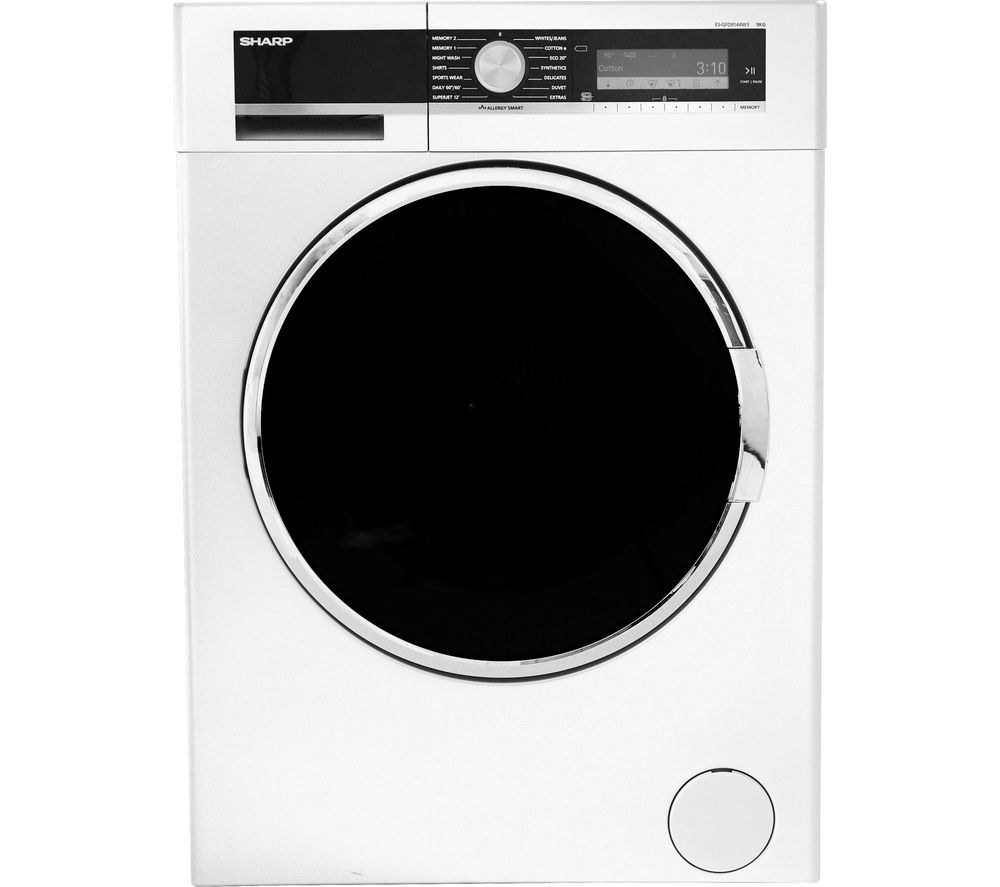 SHARP ES-GFD9144W3 Washing Machine - White