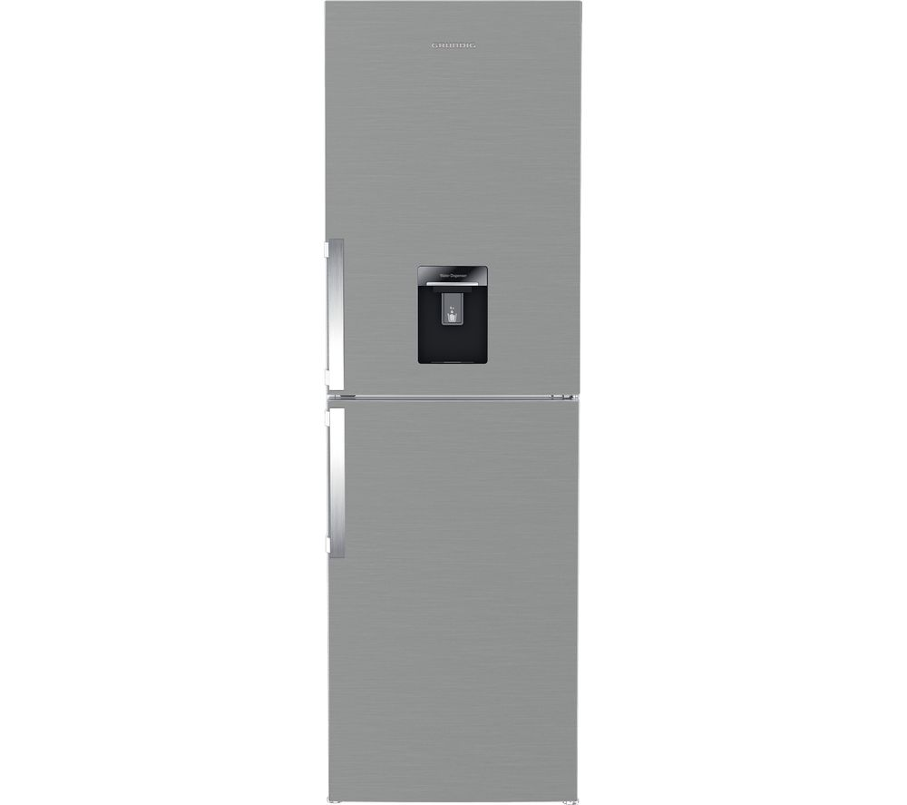 GRUNDIG GKF15810DN 50/50 Fridge Freezer - Brushed Steel