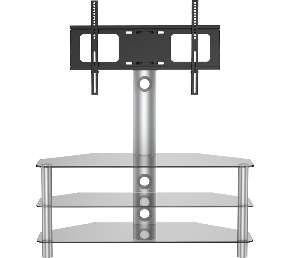 VIVANCO Brisa 1200 TV Stand with Bracket - Smoked