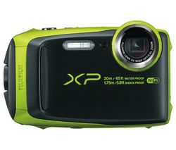 FUJIFILM XP120 Tough Compact Camera - Black & Green