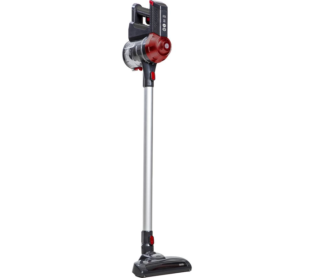 HOOVER Freedom Pets FD22RP Cordless Vacuum Cleaner - Red & Grey