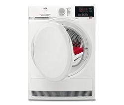 AEG T6DBG720N 7 kg Condenser Tumble Dryer - White