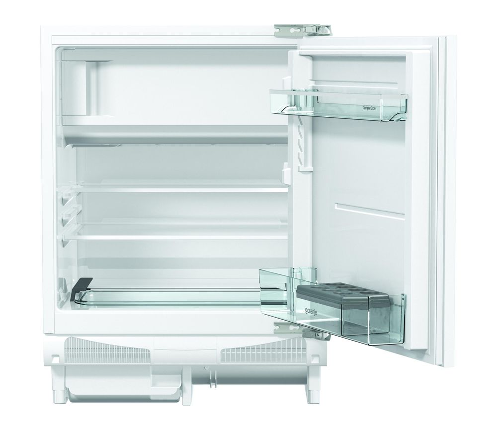 buy gorenje rbiu6f091awuk integrated undercounter fridge. Black Bedroom Furniture Sets. Home Design Ideas