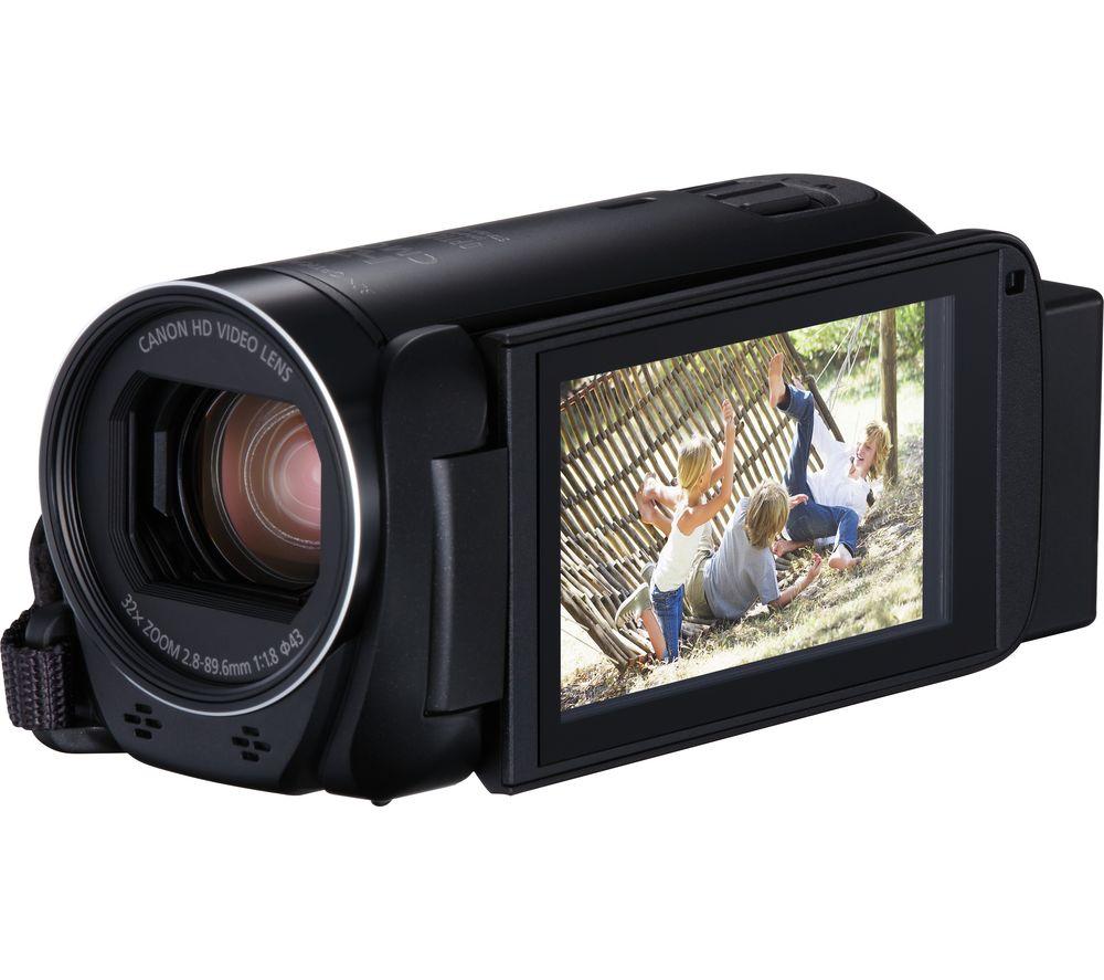 CANON LEGRIA HF R806 Camcorder – Black, Black