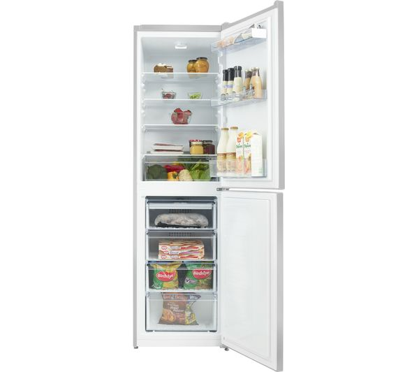 Buy Beko Cfg1582s 50 50 Fridge Freezer Silver Free