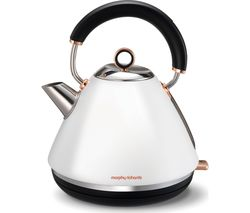 MORPHY RICHARDS Accents 102106 Traditional Kettle - White & Rose Gold