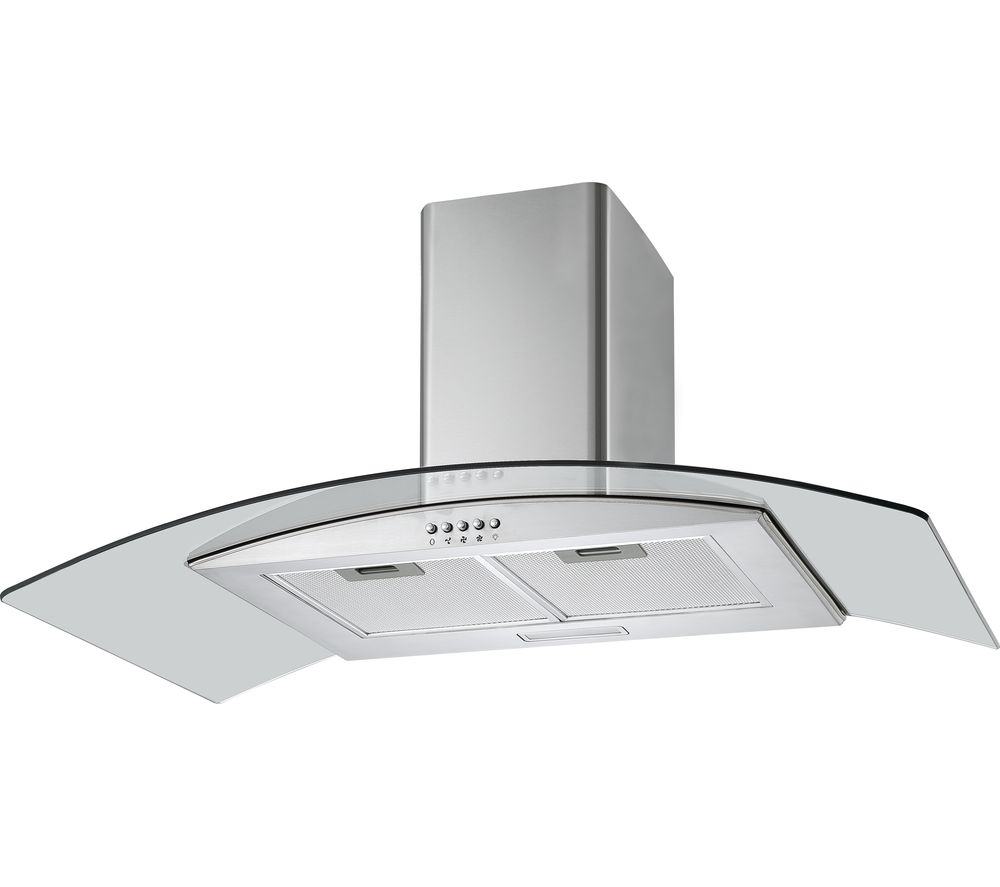 Buy Logik L90chdg17 Chimney Cooker Hood Stainless Steel