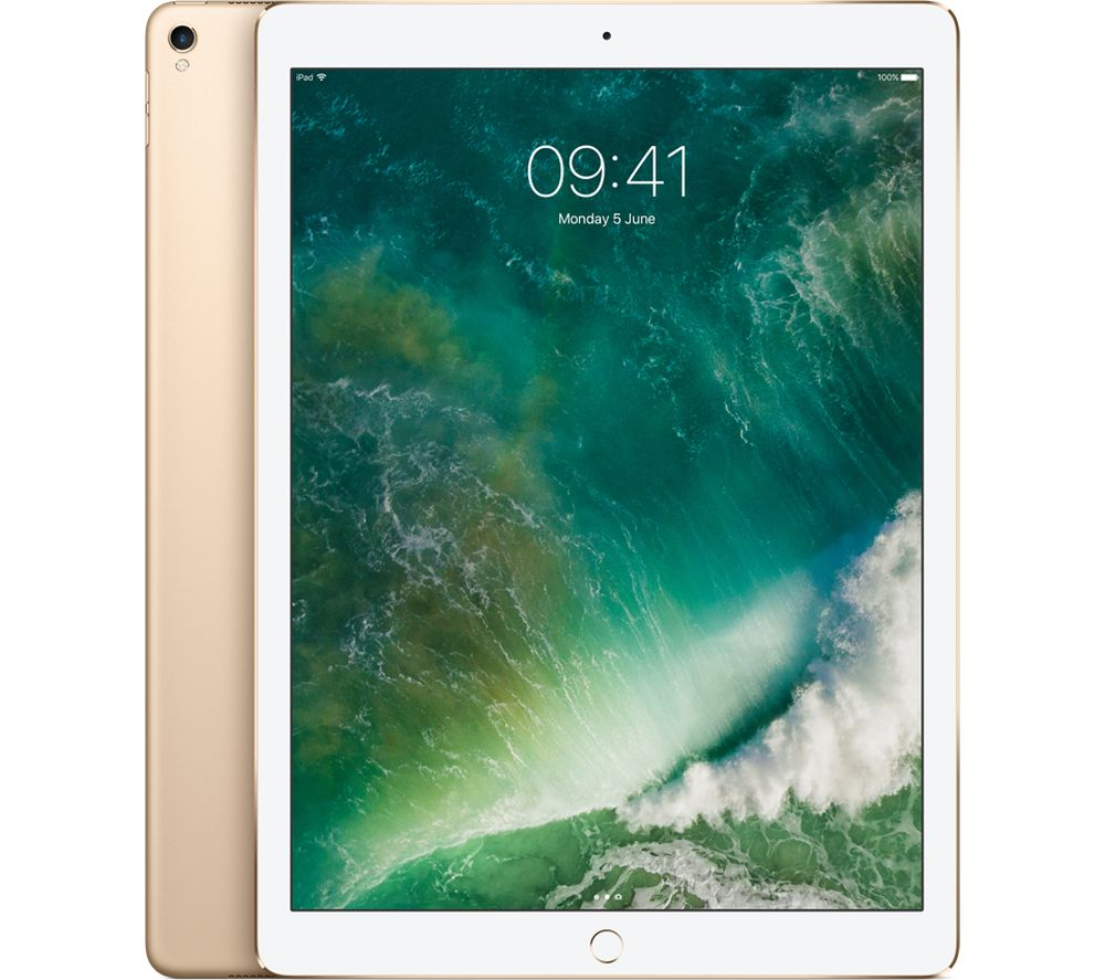 "APPLE 12.9"" iPad Pro - 64 GB, Gold (2017)"