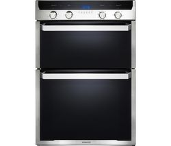 KD1505SS Electric Double Oven - Black & Stainless Steel