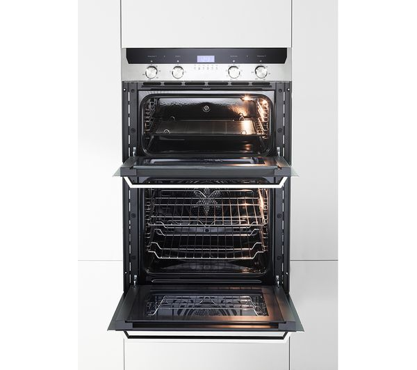 Buy Kenwood Kd1505ss Electric Double Oven Black