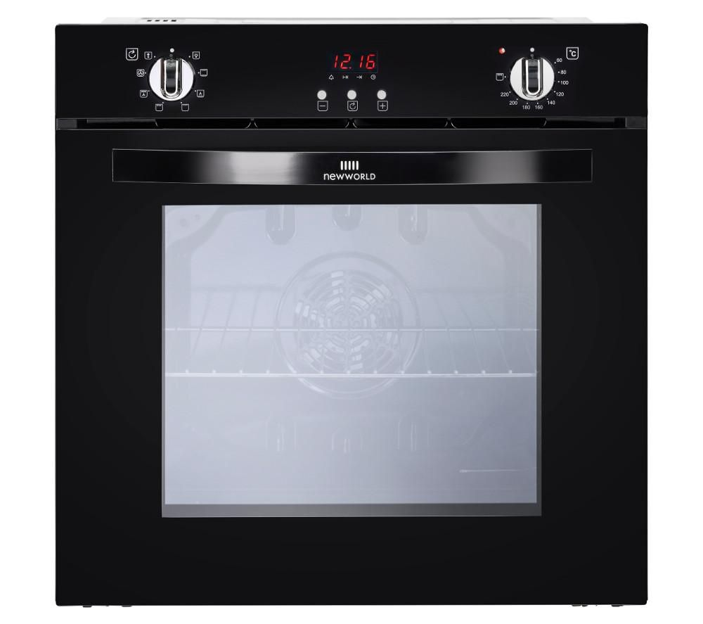 NEW WORLD NW602MF BLK Electric Oven - Black