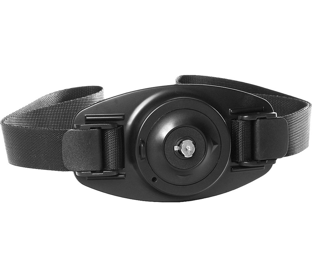 360FLY HD Action Camcorder Vented Helmet Strap Mount - Black
