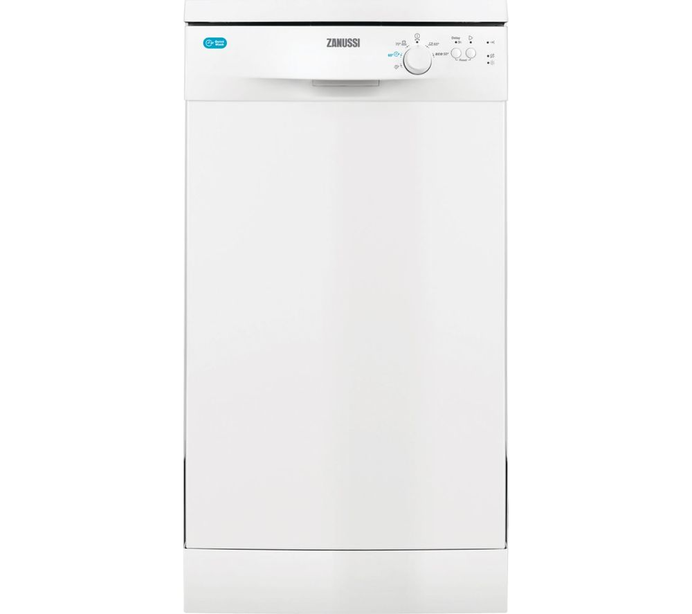 Compare retail prices of Zanussi ZDS12002WA Slimline Dishwasher to get the best deal online