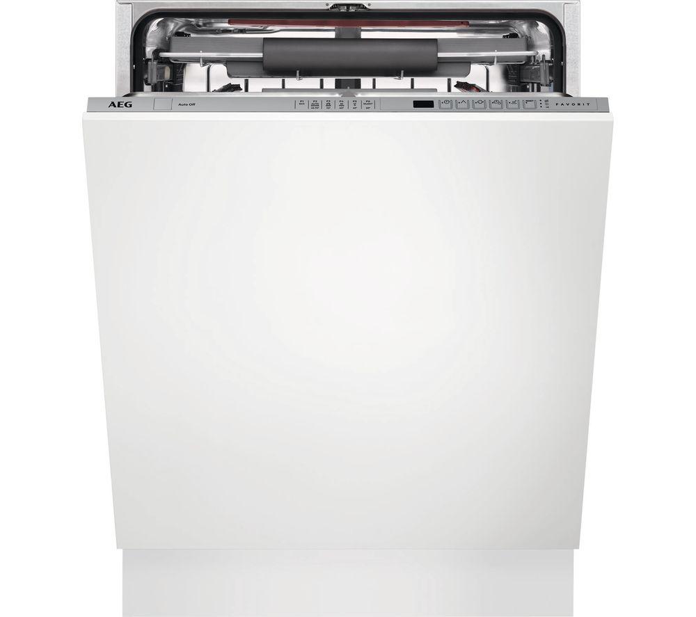 AEG FSS62700P Full-size Integrated Dishwasher