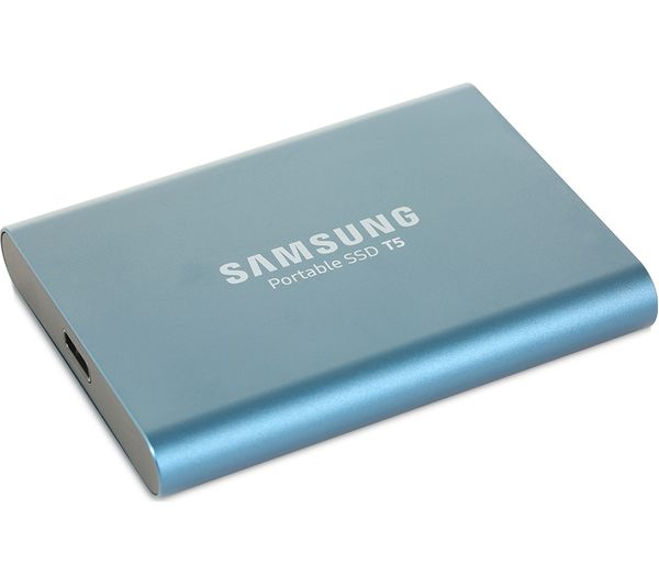 Samsung T5 External Ssd 500 Gb Blue