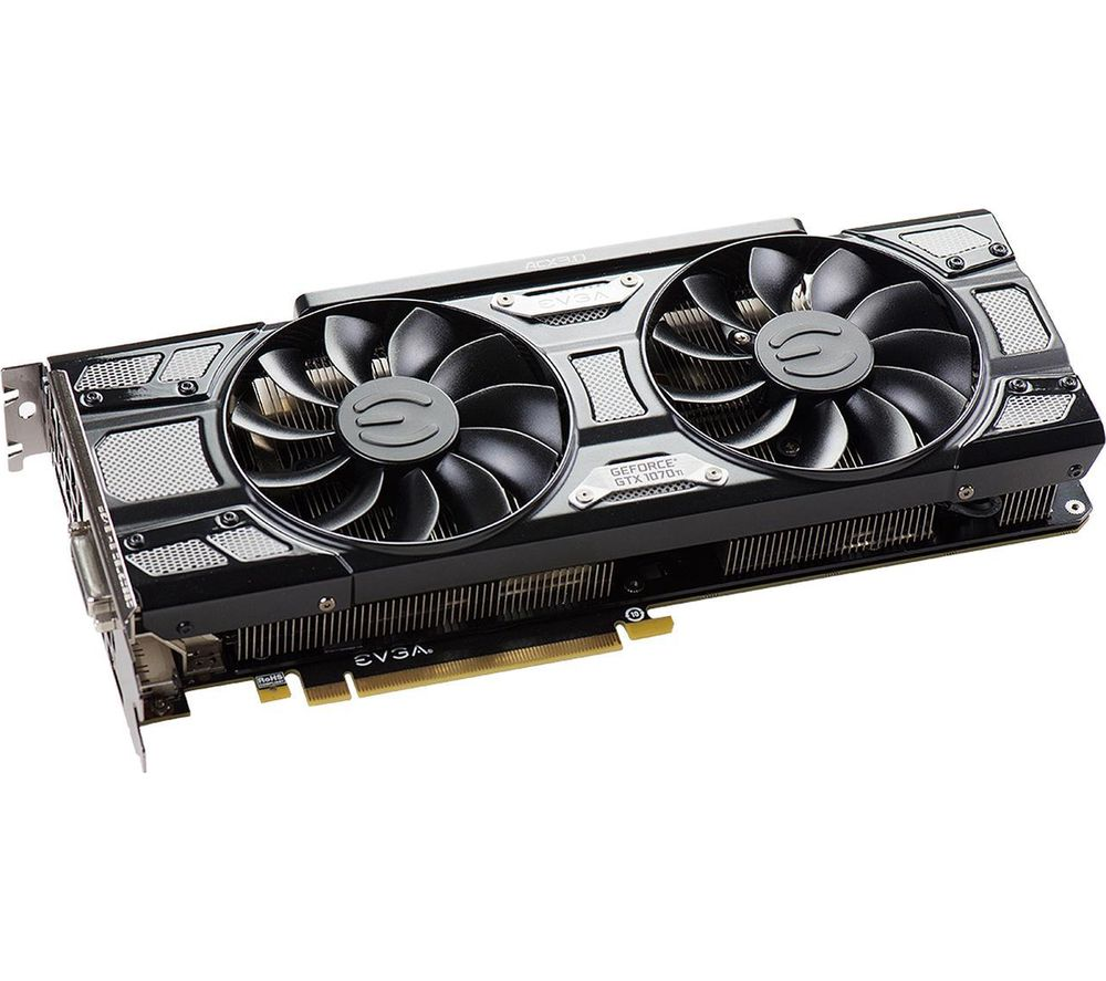 EVGA GeForce GTX 1070 Ti 8 GB SC ACX 3 Graphics Card