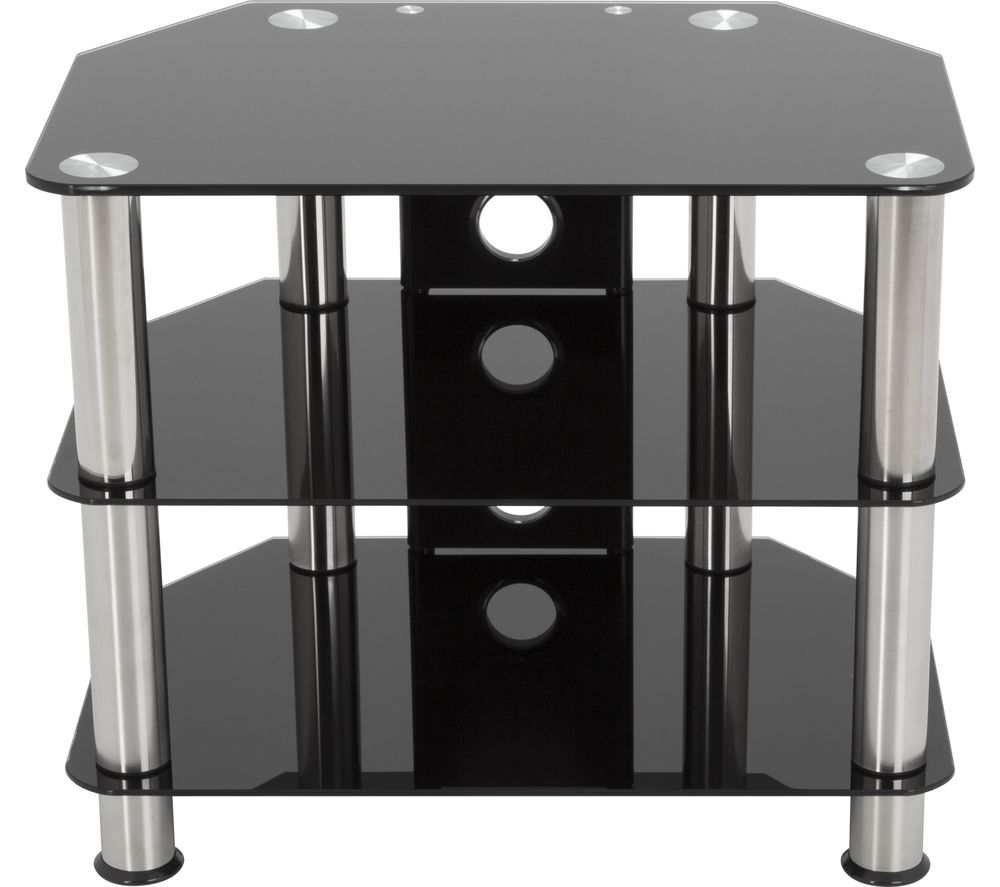 AVF SDC600CM TV Stand - Black & Chrome