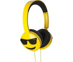 Jamogi Too Cool Kids Headphones - Yellow