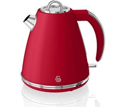 SWAN Retro SK19020RN Jug Kettle - Red