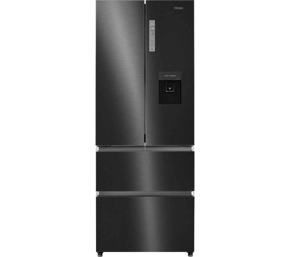 HAIER HB16WSNAA Fridge Freezer - Black Stainless Steel