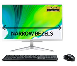 "C22-865 21.5"" All-in-One - Intel® Core™ i3, 1 TB HDD, Silver from Currys"