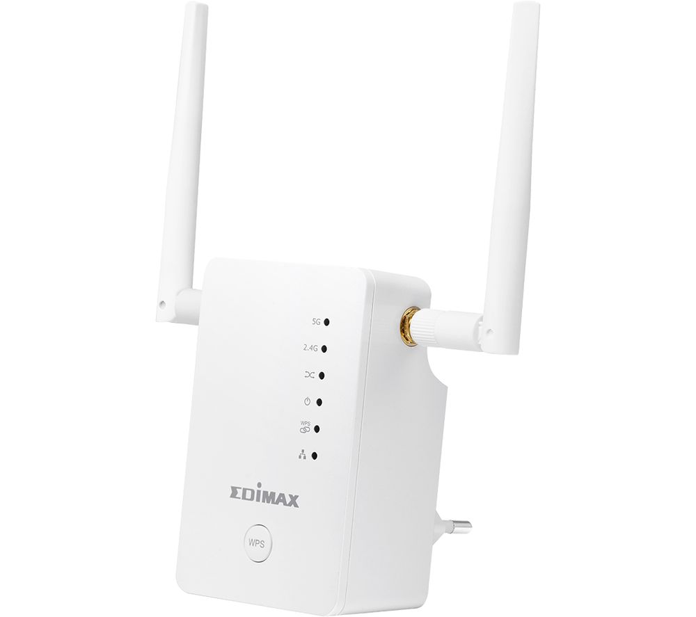 EDIMAX Gemini RE11S WiFi Range Extender - AC 1200, Dual-band