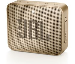 JBL GO2 Portable Bluetooth Speaker - Gold