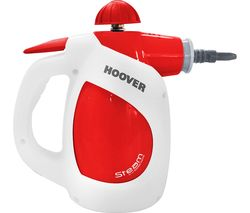 HOOVER Steam Express SSNH1000 Handheld Steam Cleaner - Red & White