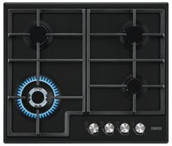 ZANUSSI ZGH66424BB Gas Hob - Black