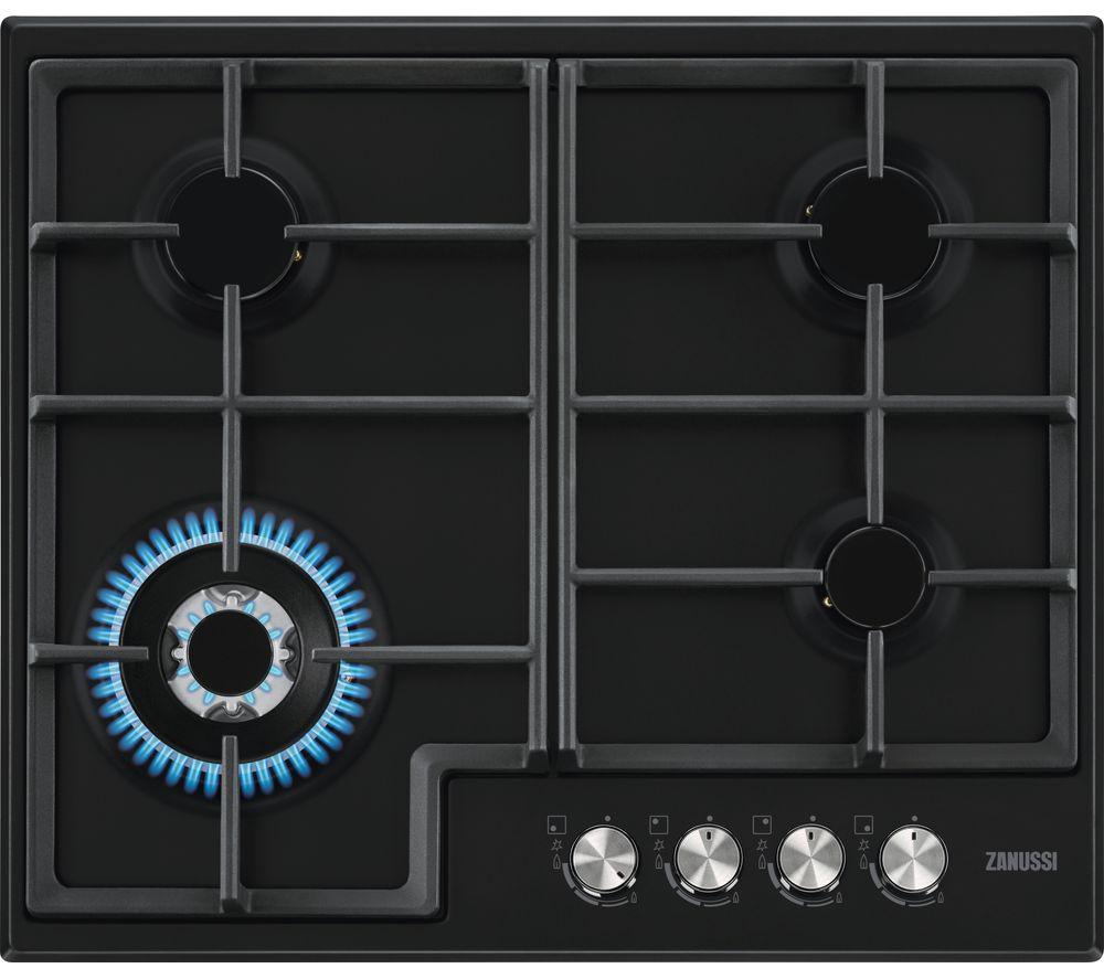 ZANUSSI ZGH66424BB Gas Hob - Black