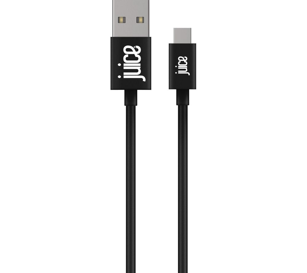 JUICE USB Type-C Cable - 1 m, Black