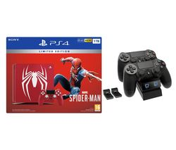 SONY Limited Edition Spider-Man PlayStation 1 TB & Marvel's Spider-Man Bundle