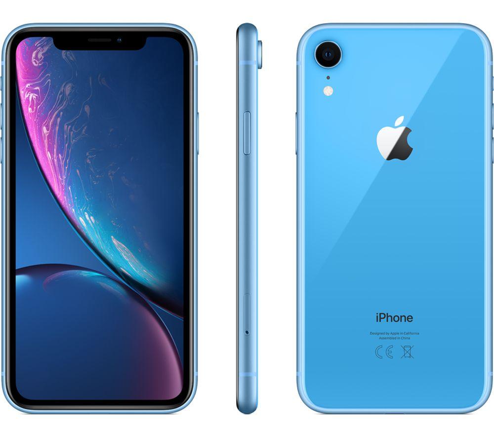 APPLE iPhone XR - 256 GB, Blue