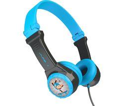 JBuddies Folding Kids Headphones - Blue