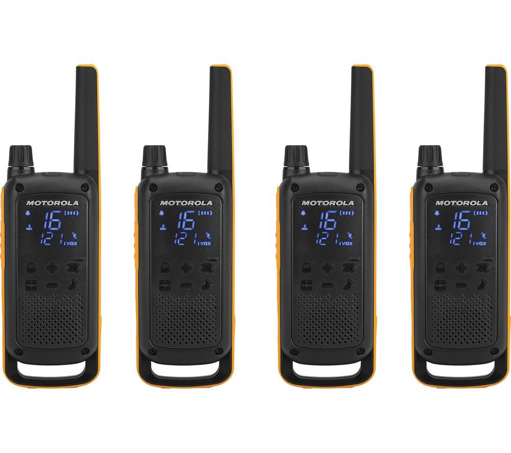MOTOROLA TALKABOUT T82 Extreme Walkie Talkie - Quad