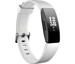 FITBIT Inspire HR Fitness Tracker - White, Universal