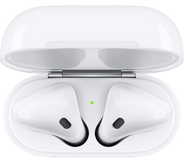 APPLE AirPods with Wireless Charging Case (2nd generation) - White - Currys 2