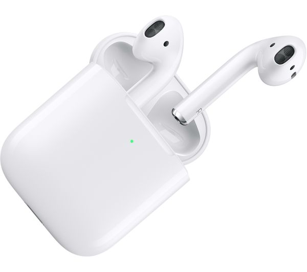 APPLE AirPods with Wireless Charging Case (2nd generation) - White - Currys 3