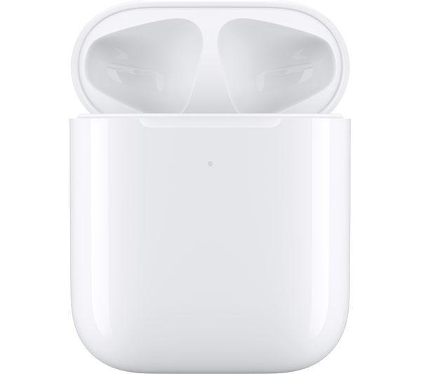 APPLE AirPods with Wireless Charging Case (2nd generation) - White - Currys 6
