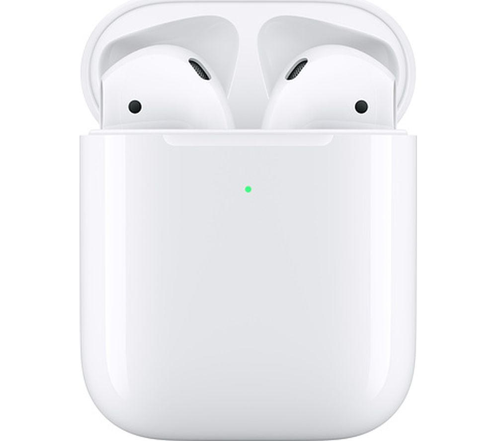 Image of AirPods with Wireless Charging Case (2nd generation) - White, White