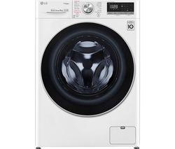 10194556: AI DD V5 F4V509WS WiFi-enabled 9 kg 1400 Spin Washing Machine - White
