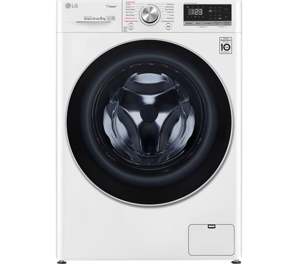 LG AI DD V5 F4V509WS WiFi-enabled 9 kg 1400 Spin Washing Machine - White