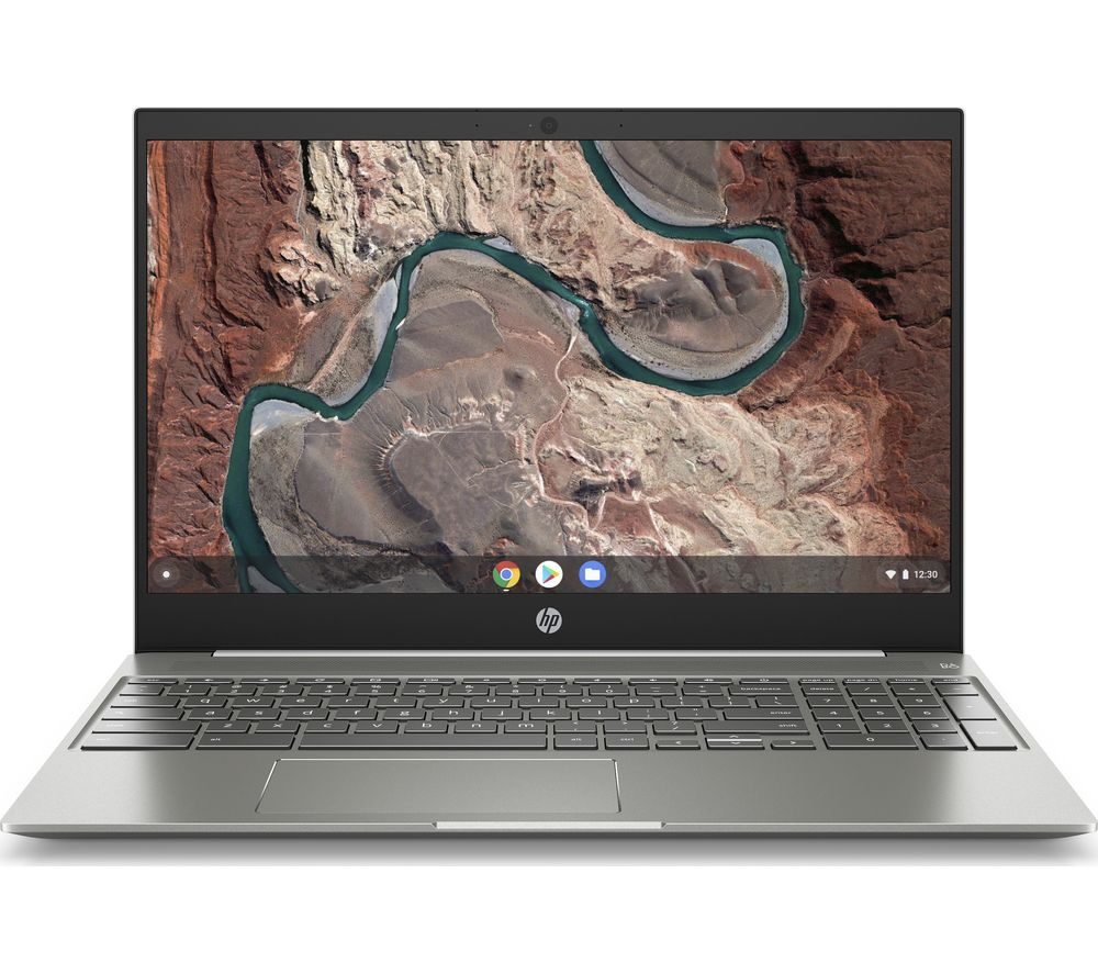 "HP 15-de0503na 15.6"" Intel® Core™ i5 Chromebook - 128 GB eMMC, White"