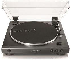 Image of AUDIO TECHNICA AT-LP60X Belt Drive Turntable - Black