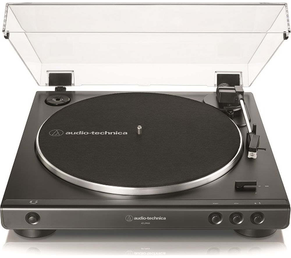 AUDIO TECHNICA AT-LP60X Belt Drive Turntable - Black