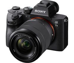 a7 III Mirrorless Camera with 28-70 mm f/3.5-5.6 Zoom Lens